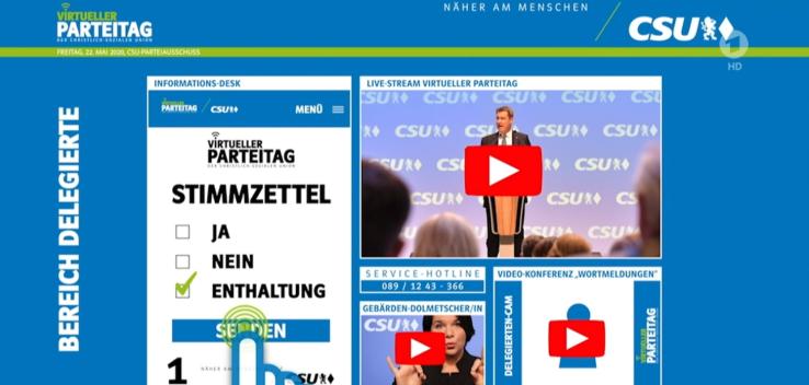 CSU Parteitag